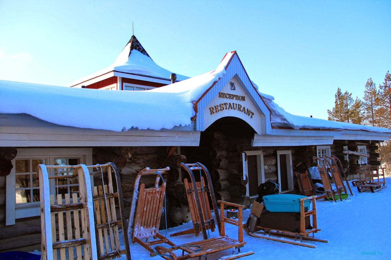 Гостиница Igloo Village Kakslauttanen